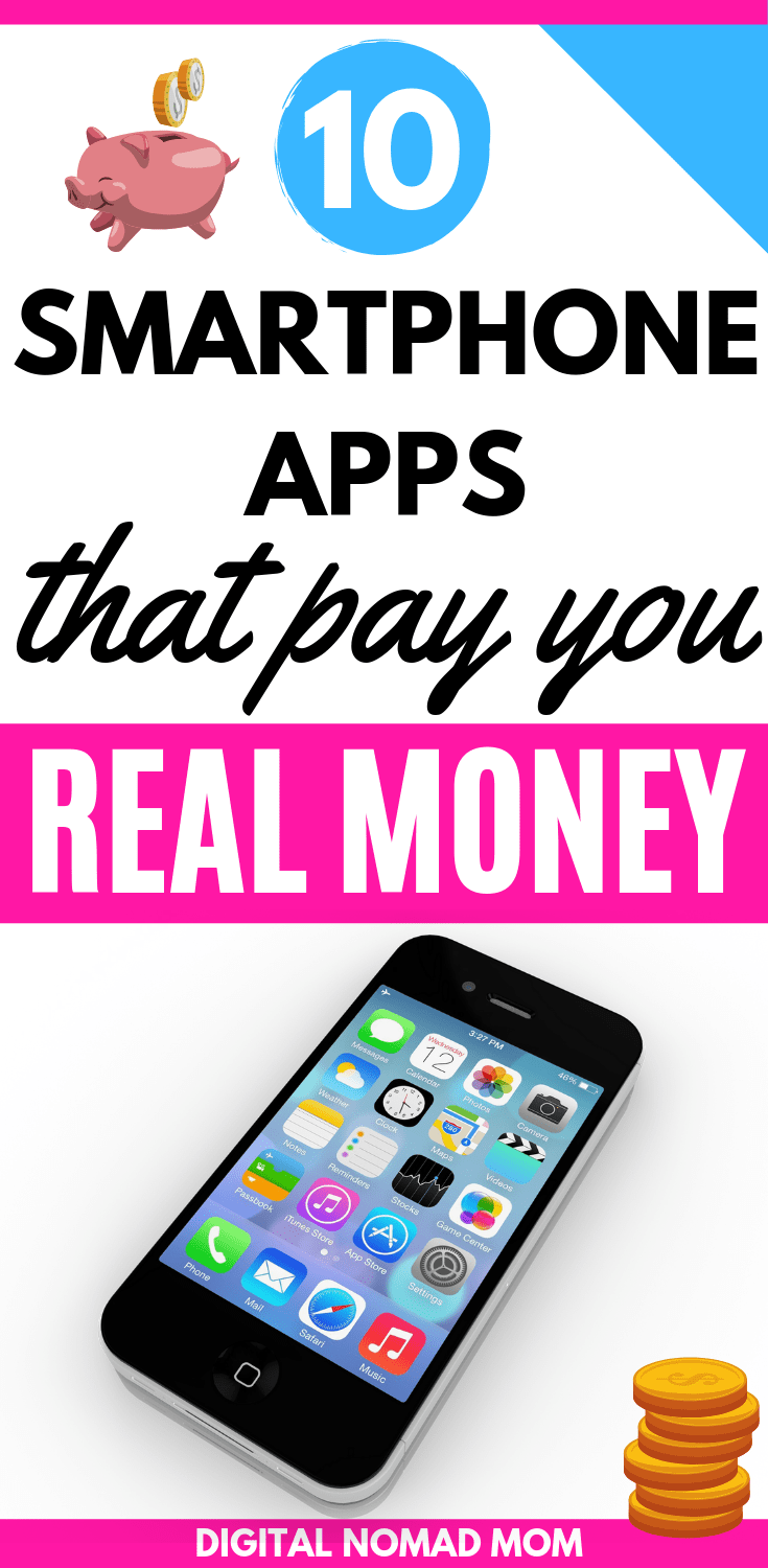 10 Smartphone Apps That Pay Real Money