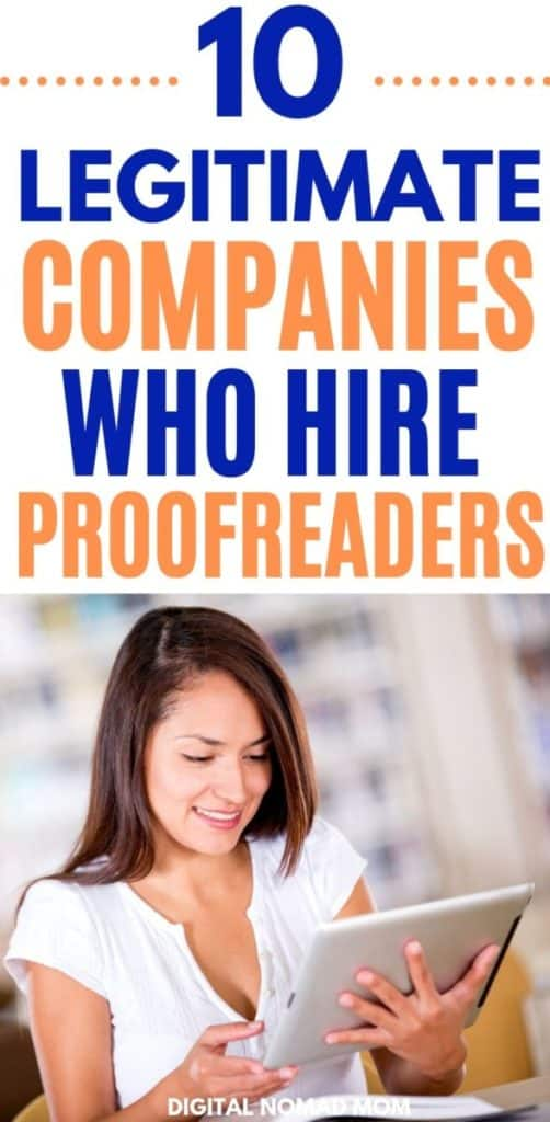 10 Legitimate Companies Who Hire Proofreaders - Proofreading Jobs for Beginners and Experience Proofreaders!