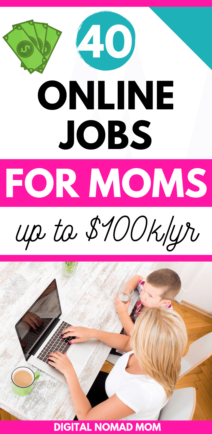40 flexible and high paying online jobs for moms