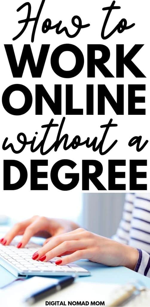 How to work from home without a degree - these 20 legitimate online jobs hire people without a college degree