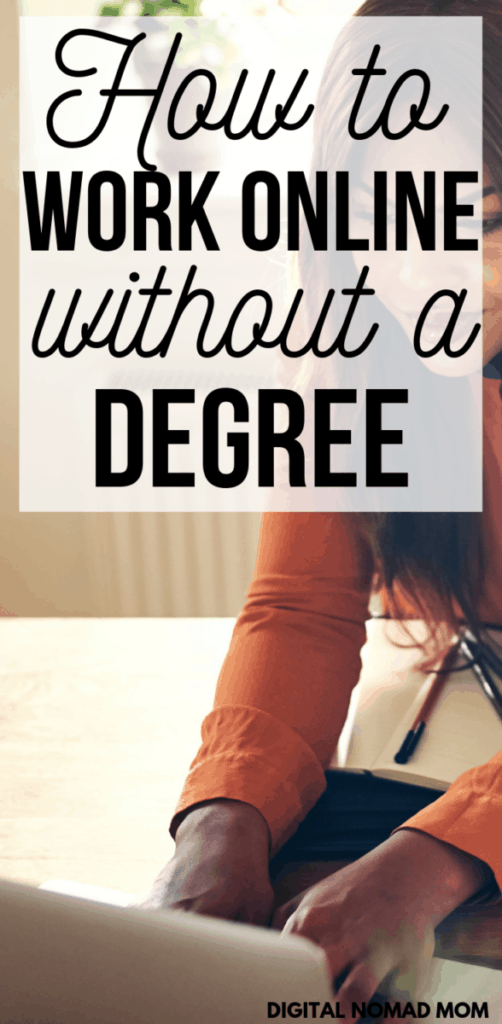 How to Work Online Without a Degree