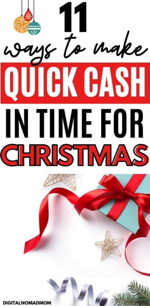11 Ways to Make Money Fast for Christmas