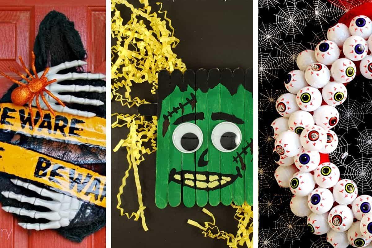 halloween dollar store DIY decorations