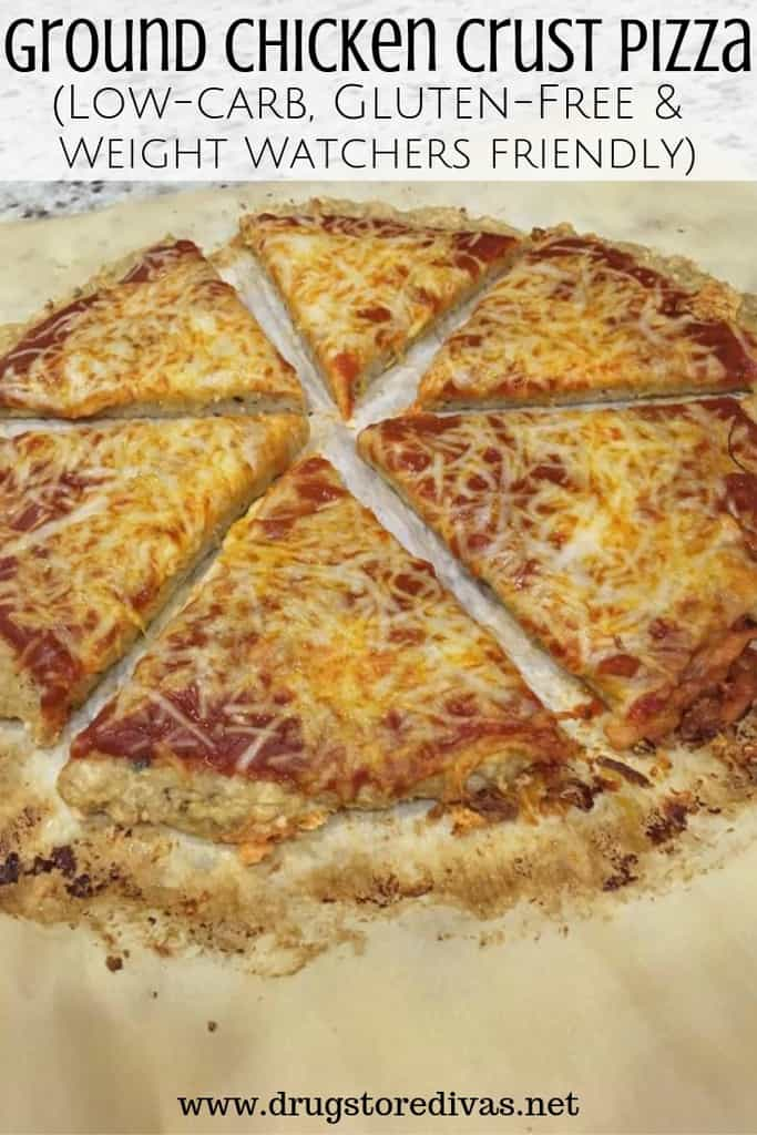 Ground Chicken Crust Pizza Keto
