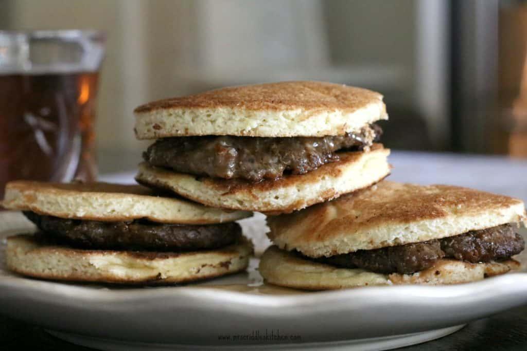 Sausage McCriddles (Keto)