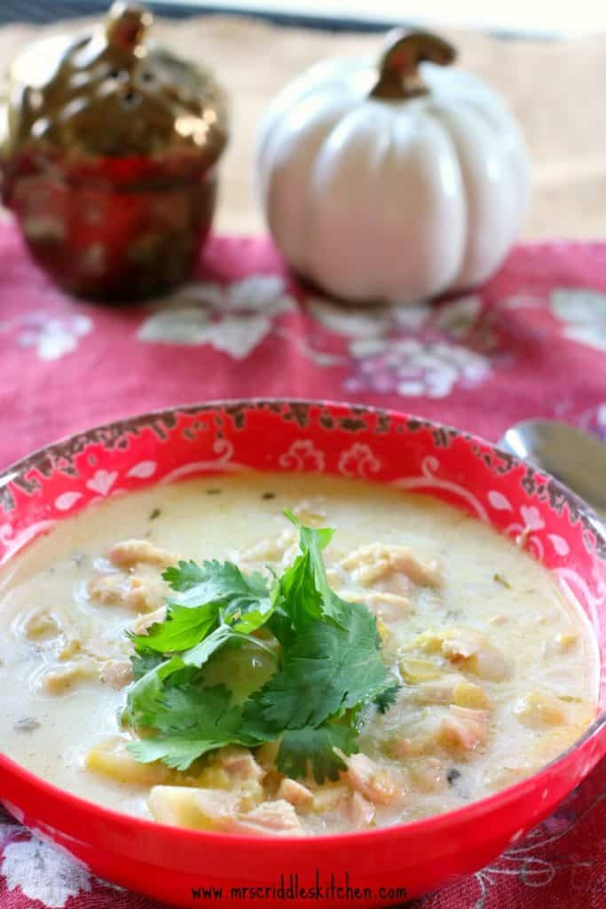 Creamy Turkey Soup (Keto)