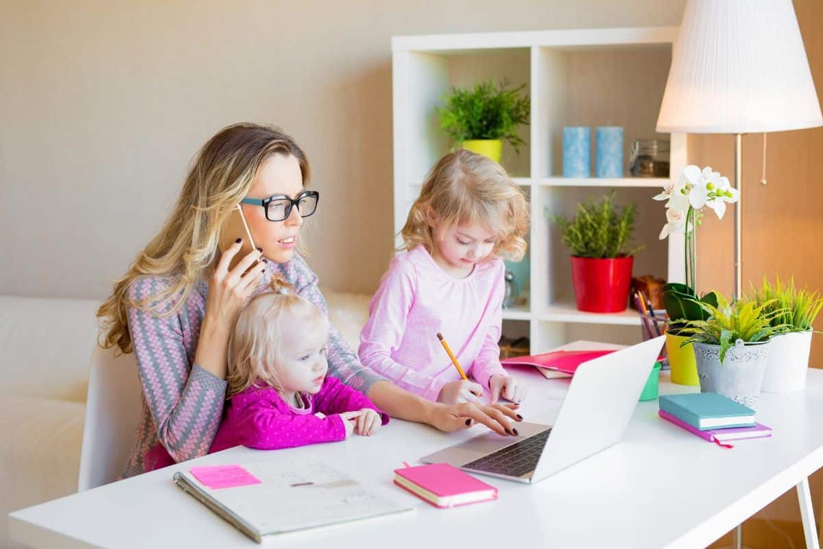 work from home jobs for moms with no fees