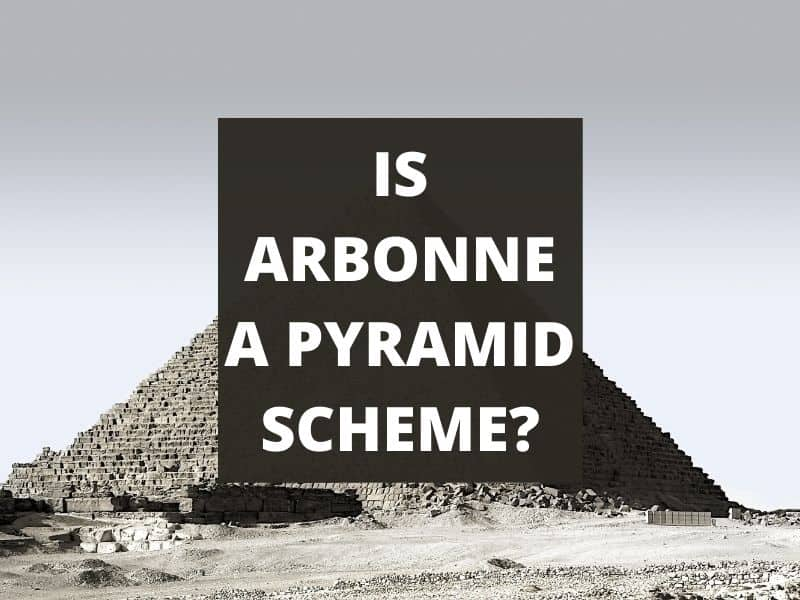 a stone pyramid with text overlay