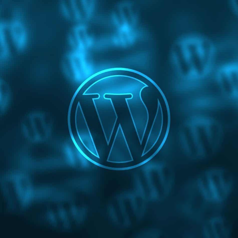 the WordPress symbol